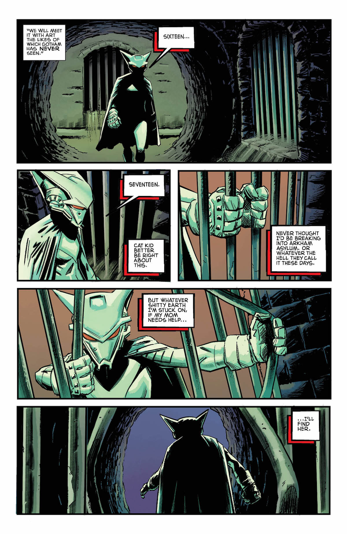 Mother Panic Gotham A.D. #3 page 3