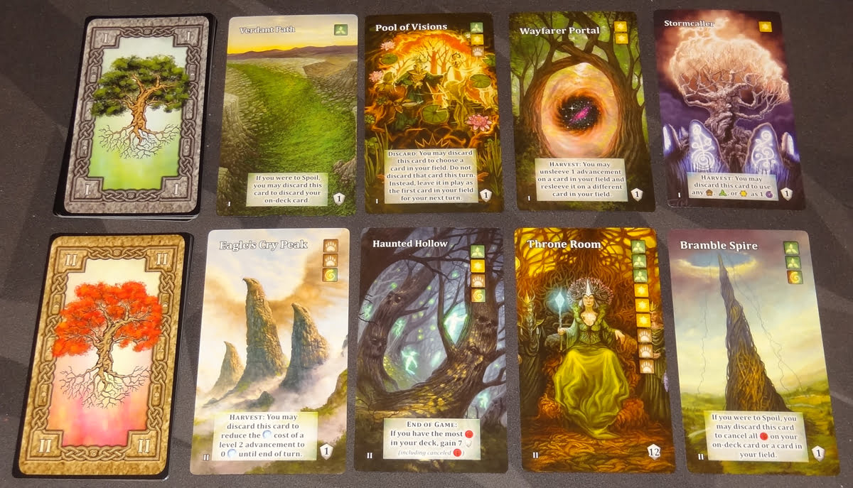 Mystic Vale: Vale of the Wild vale cards
