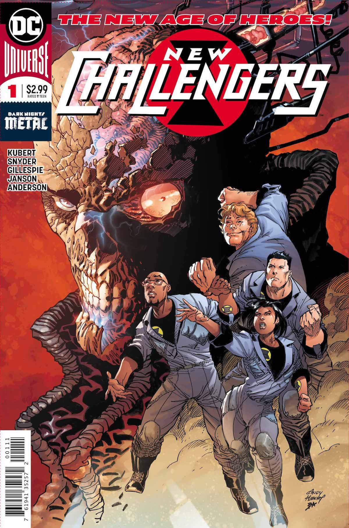New Challengers #1 cover