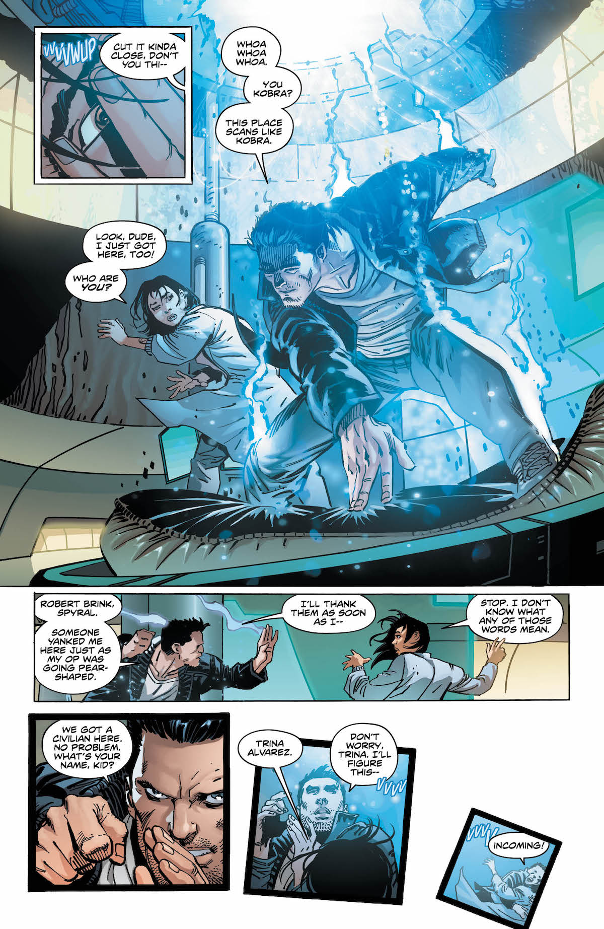 New Challengers #1 page 5
