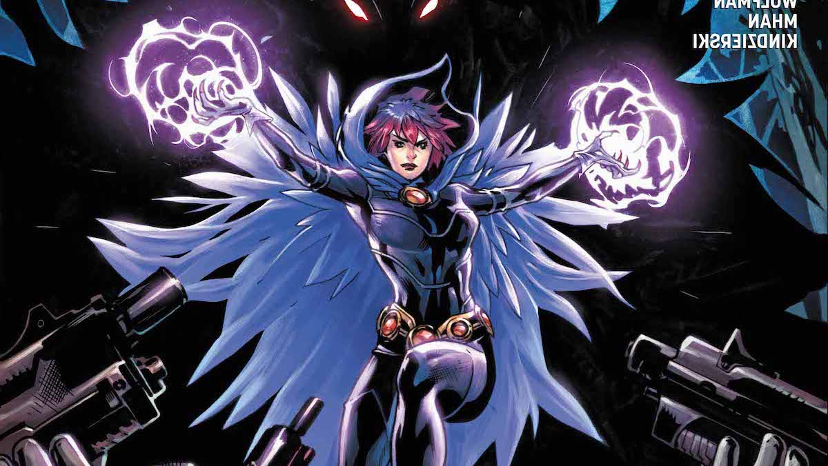 Raven Daughter of Darkness #5 cover