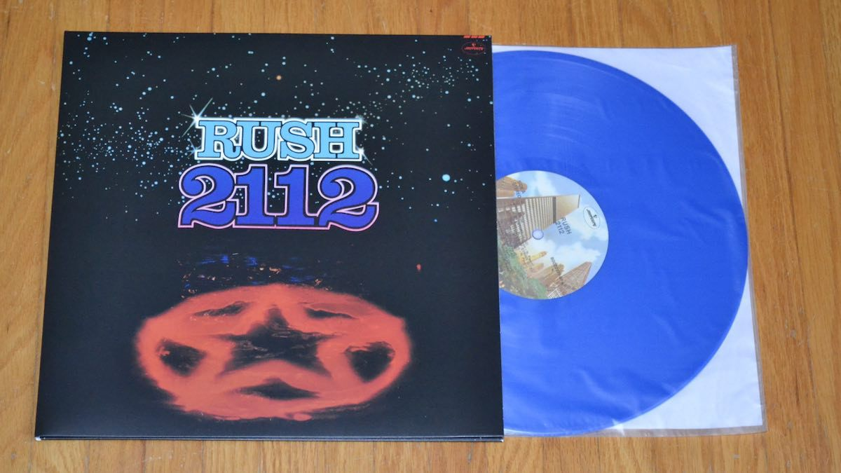 Rush 2112 limited edition record