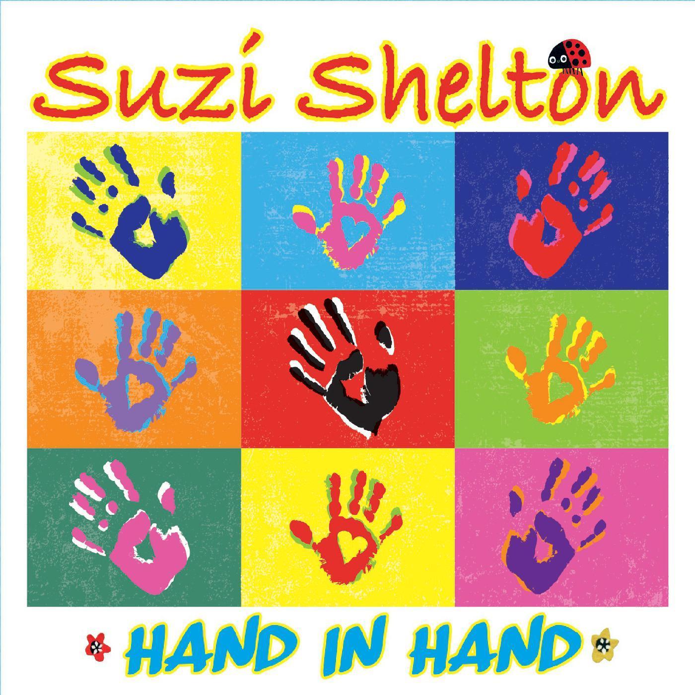 Suzi Shelton Hand in Hand CD cover artwork