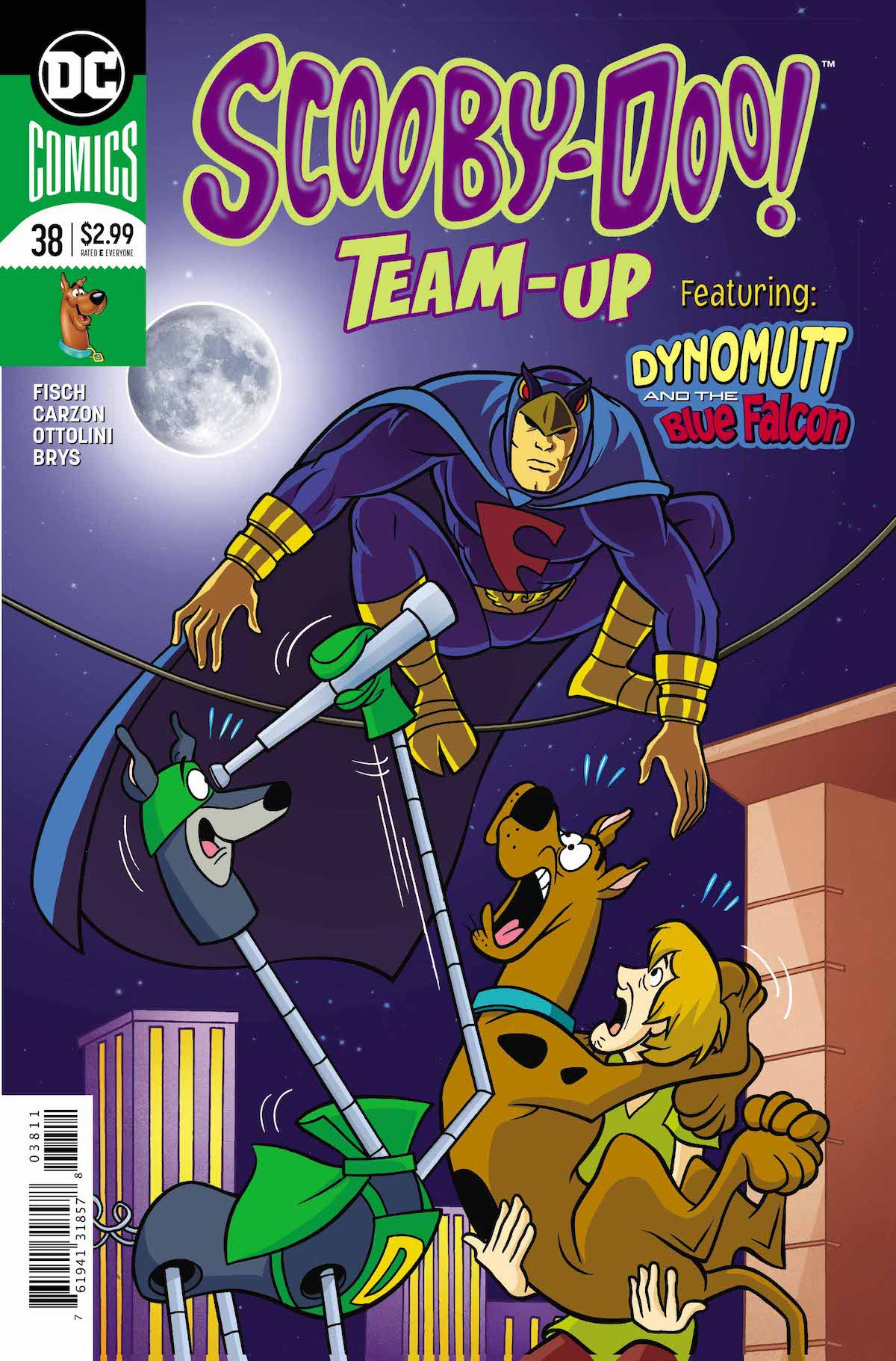 Scooby Doo Team Up #38 cover