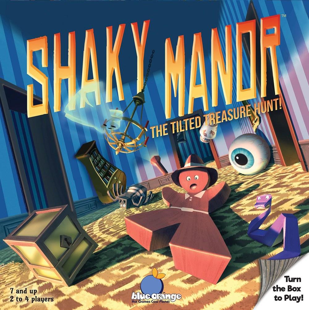 Shaky Manor cover