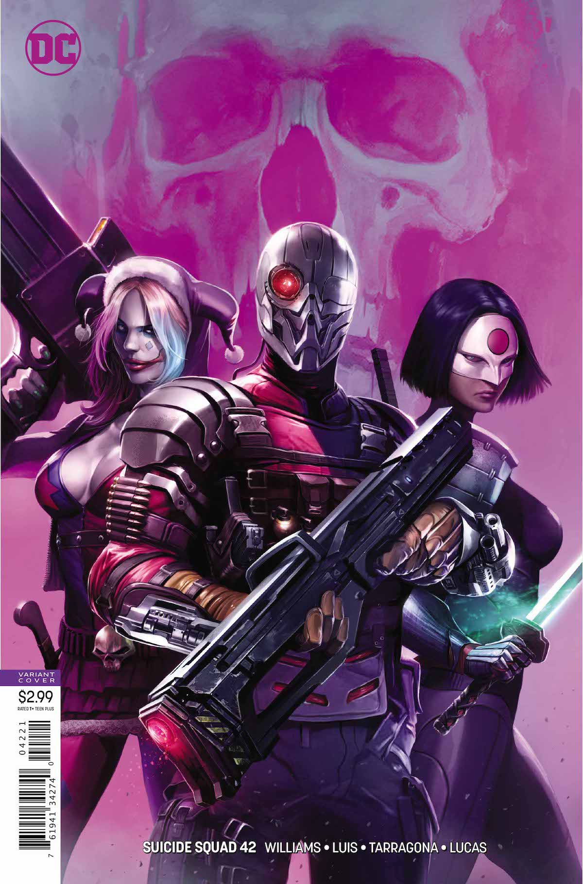 Suicide Squad #42 variant cover