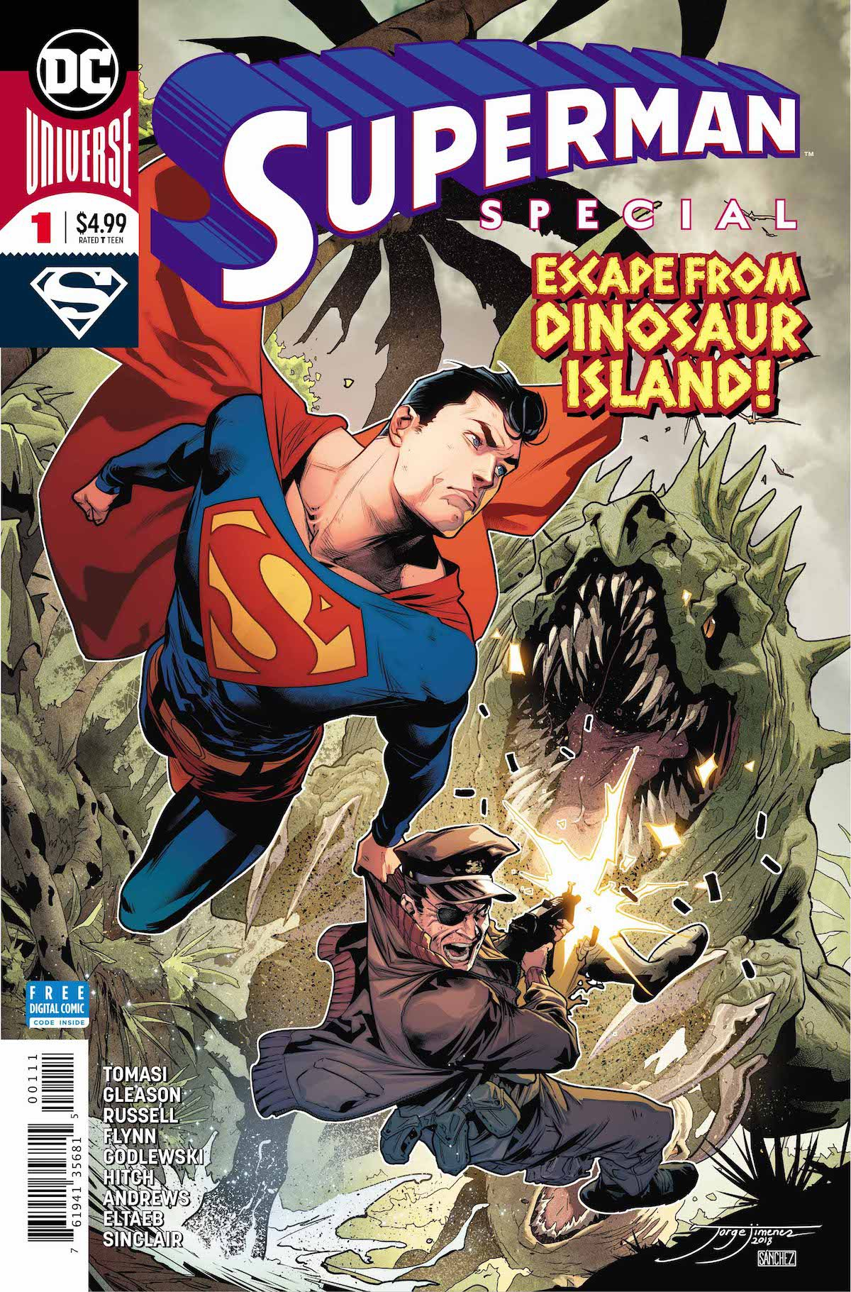 Superman Special #1 cover