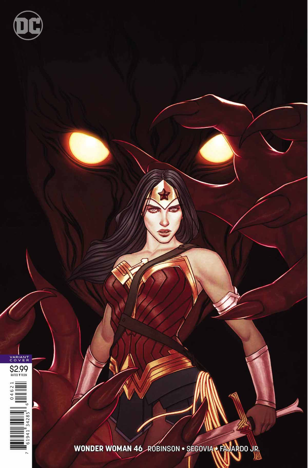 Wonder Woman #46 variant cover