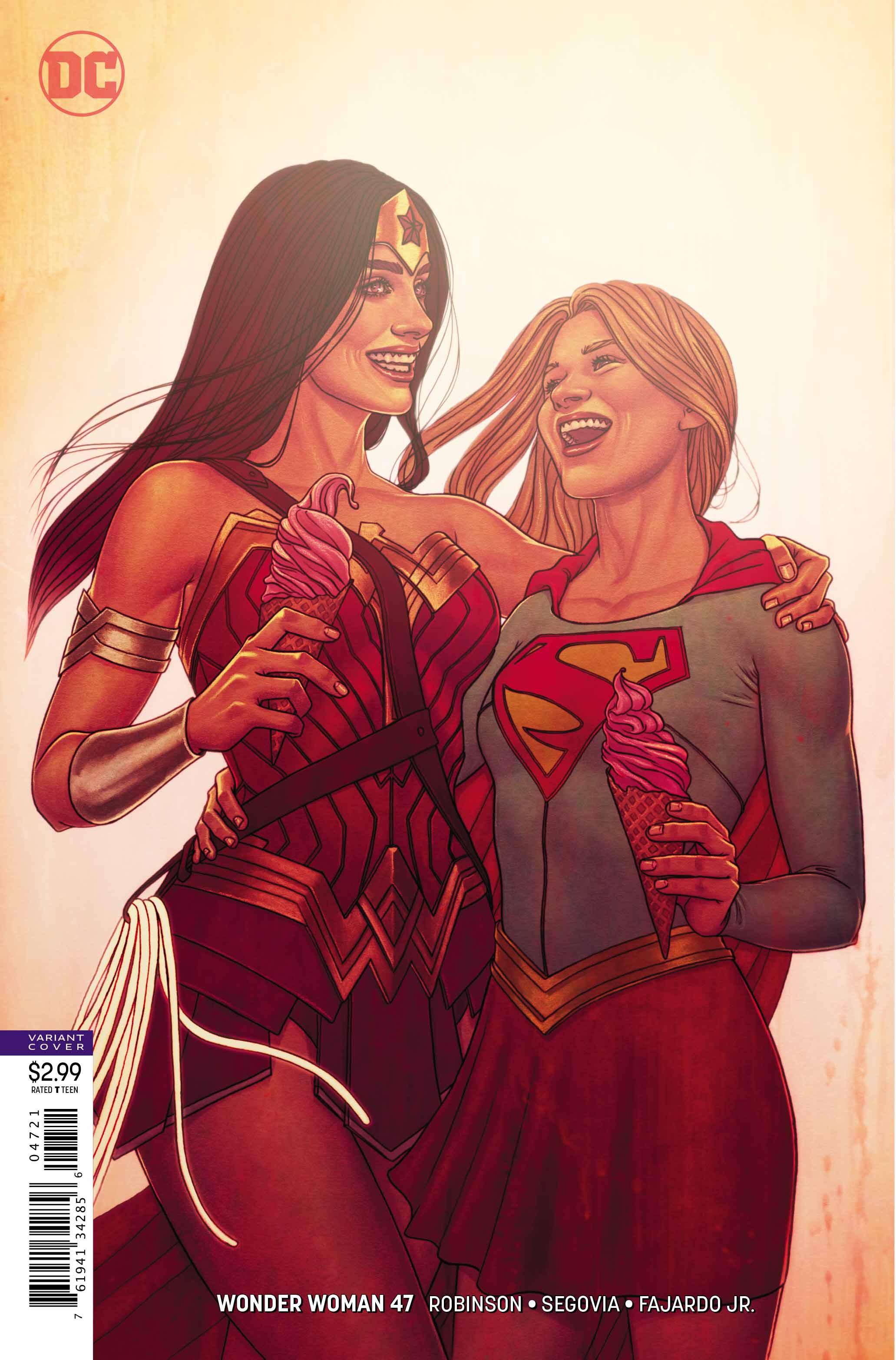 Wonder Woman #47 variant cover