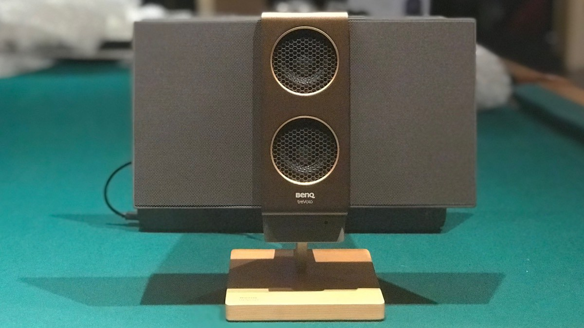 treVolo 2 electrostatic Bluetooth speaker
