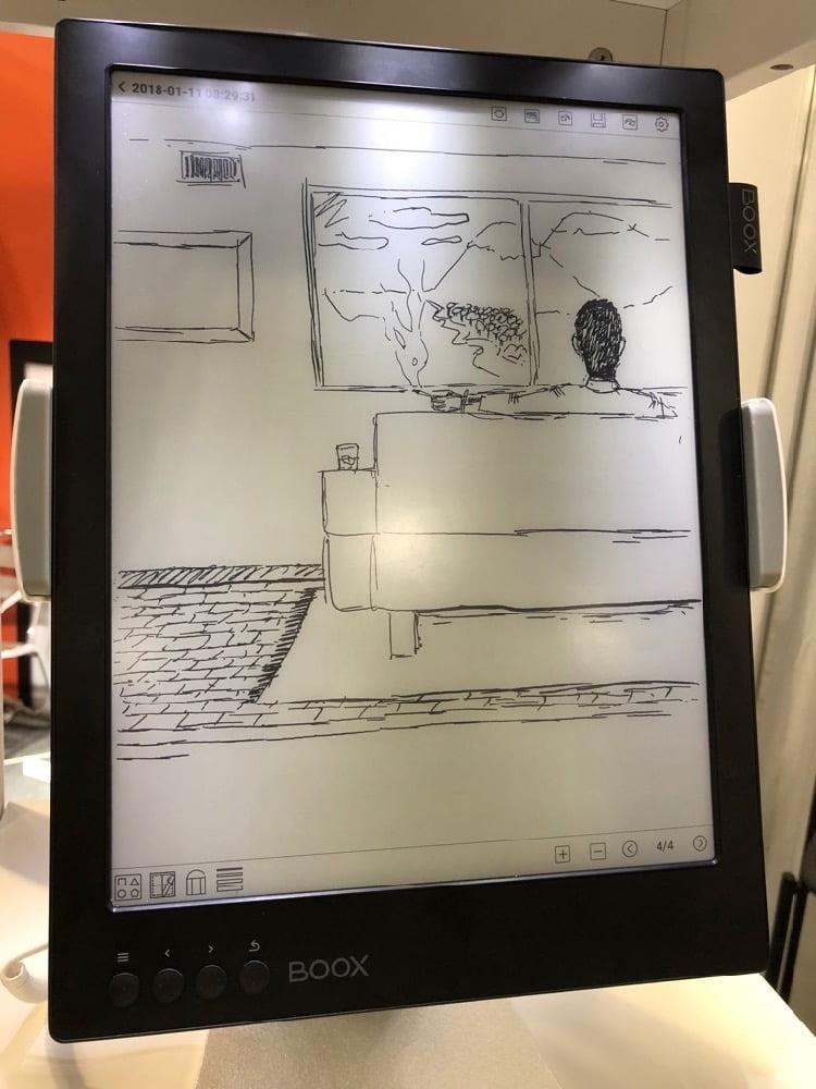 BOOX Max2 e-reader