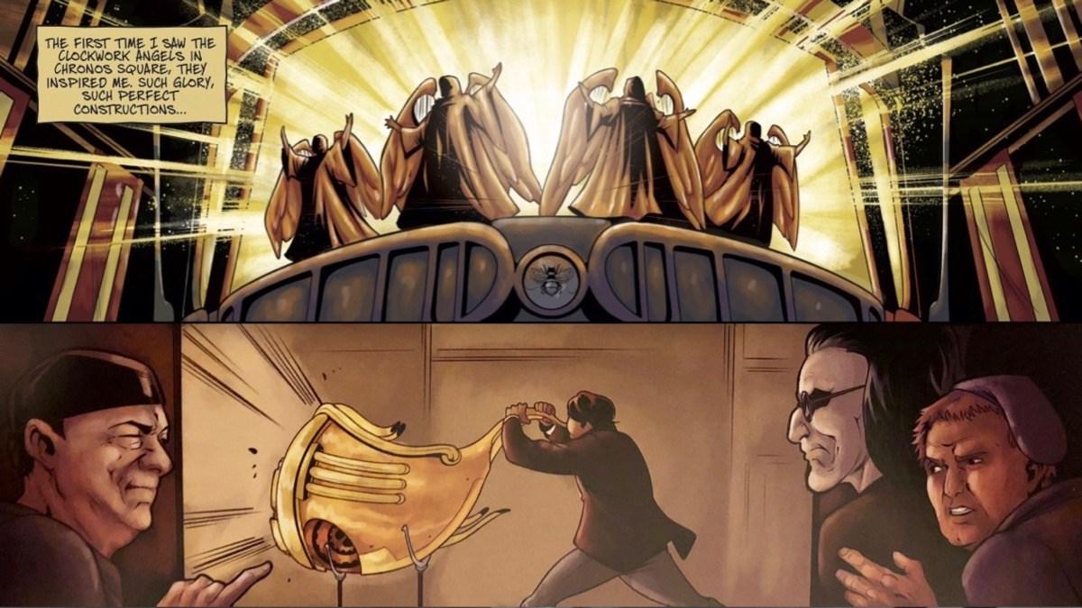 Clockwork Lives graphic novel