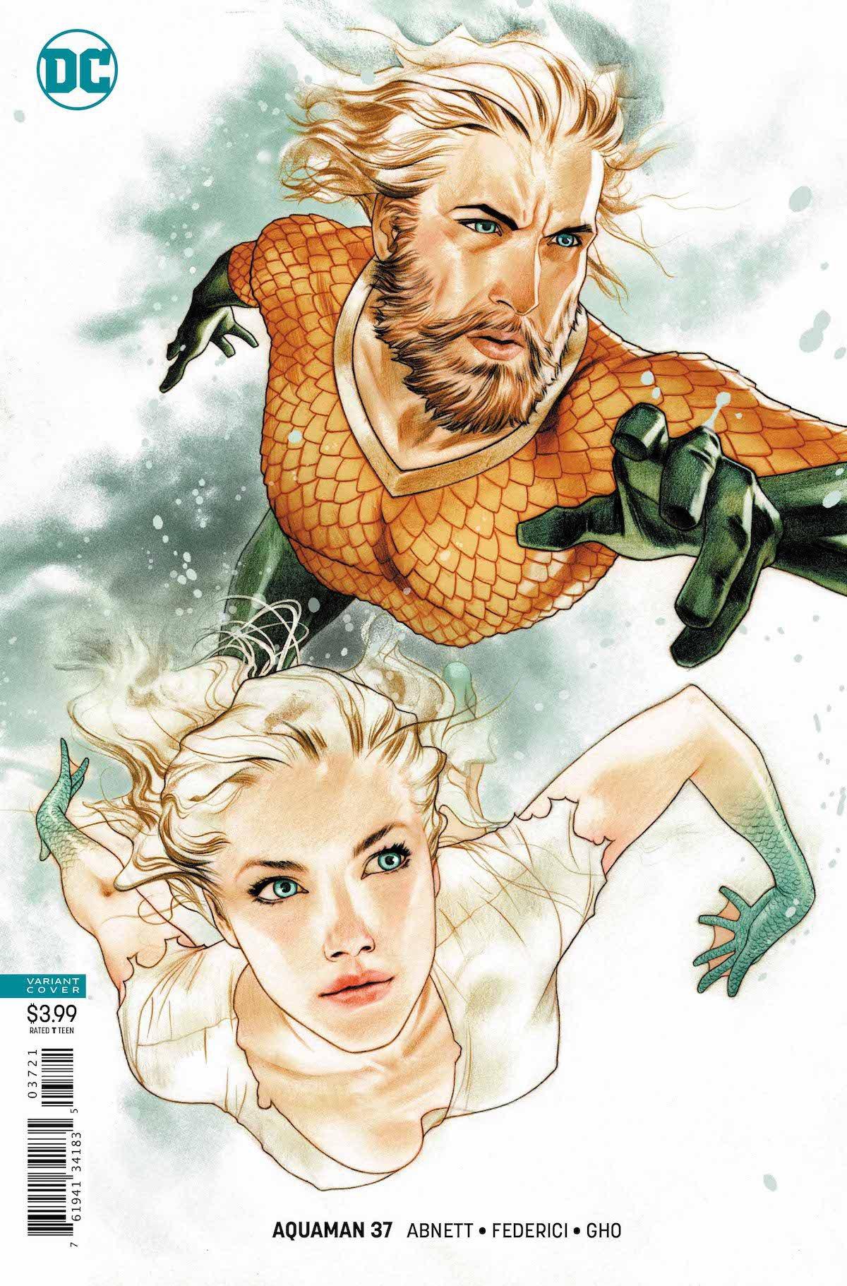 Aquaman #37 variant cover