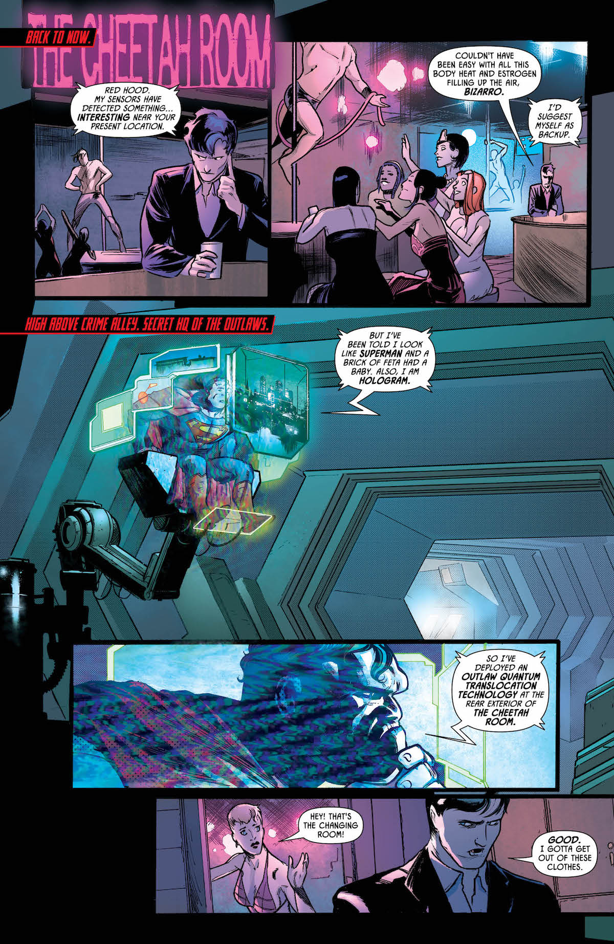 Batman: Prelude to the Wedding: Red Hood Vs. Anarky #1 page 4