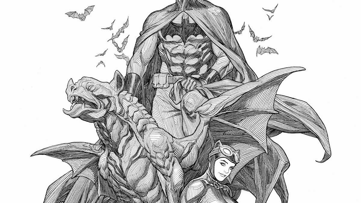 Batman #48 variant cover