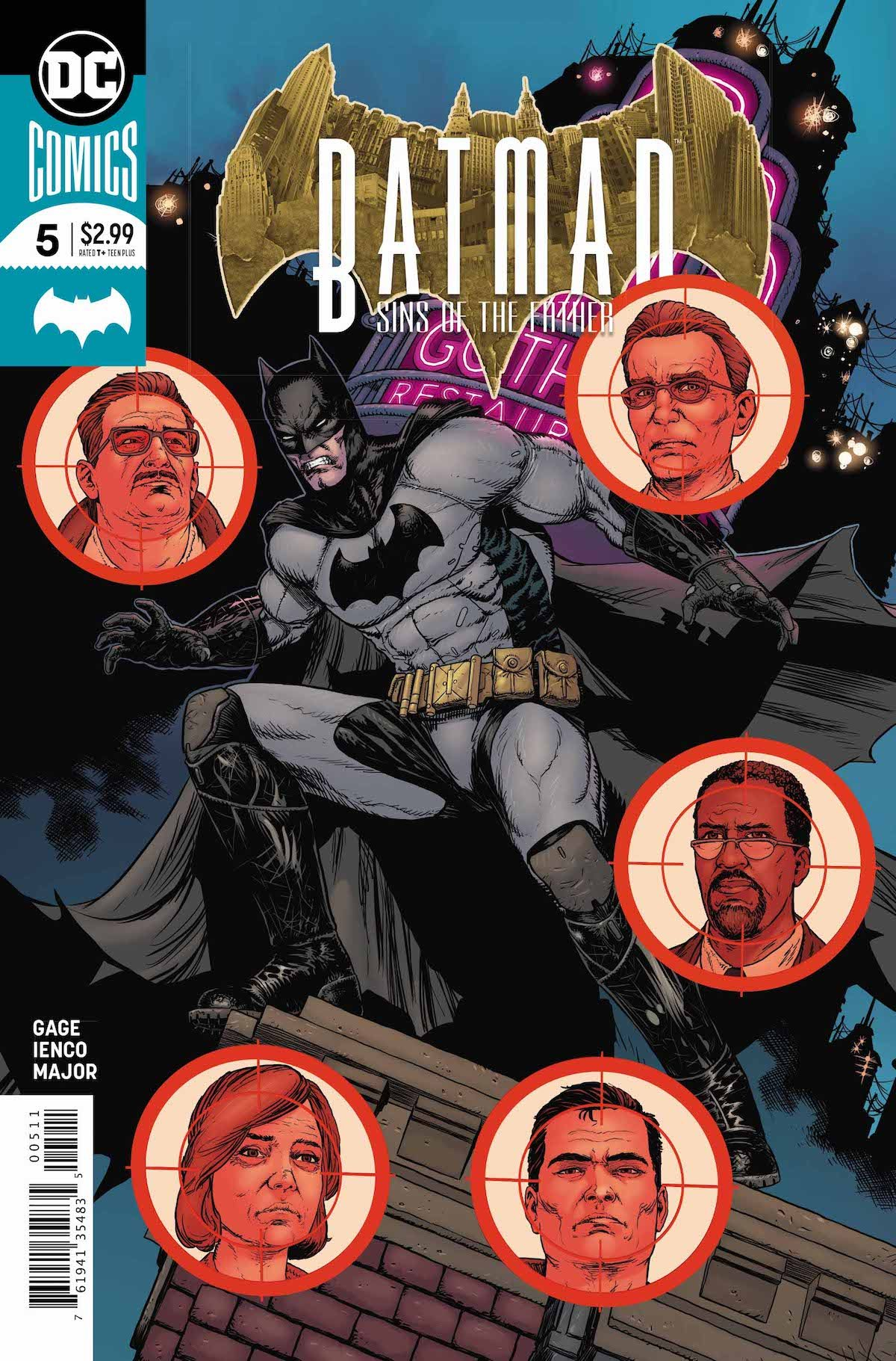 Batman: Sins of the Father #5 cover
