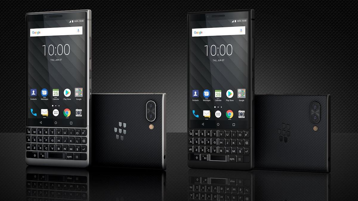 The BlackBerry KEY2.