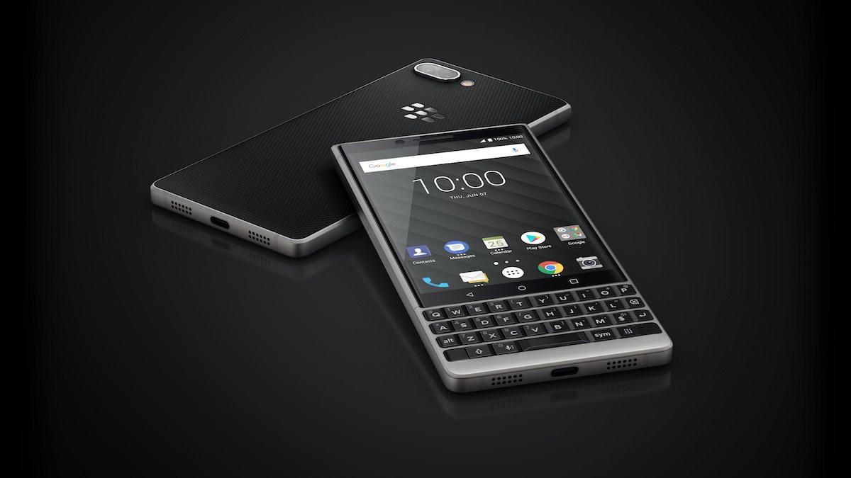 The BlackBerry KEY2.