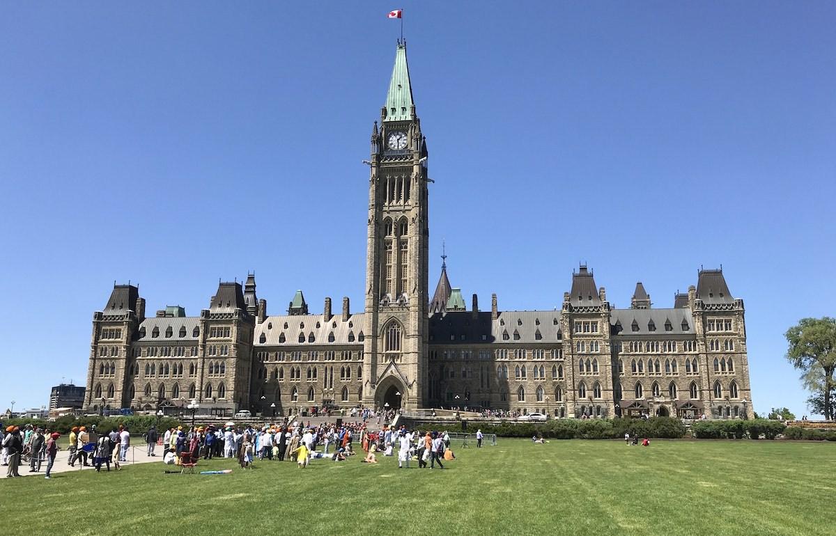 visting Ottawa
