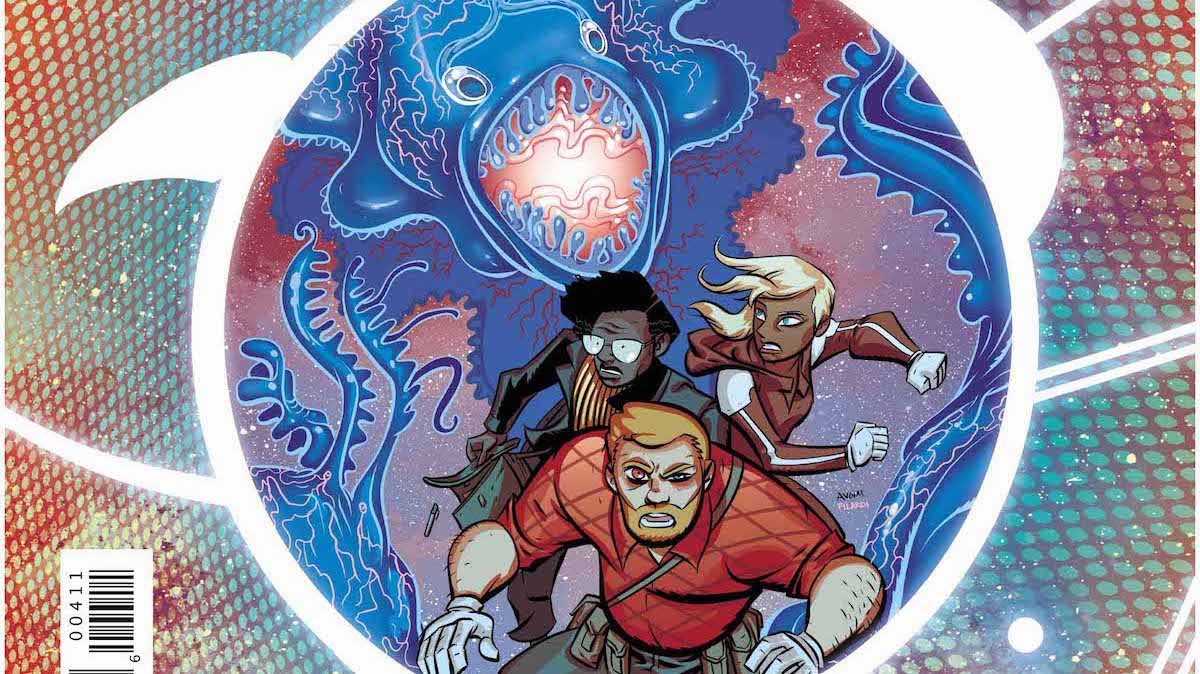 Cave Carson Has An Interstellar Eye #4 cover
