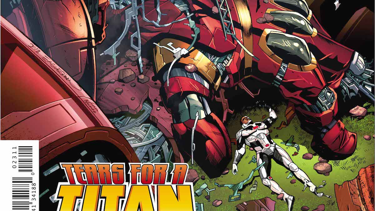 Cyborg #23 cover