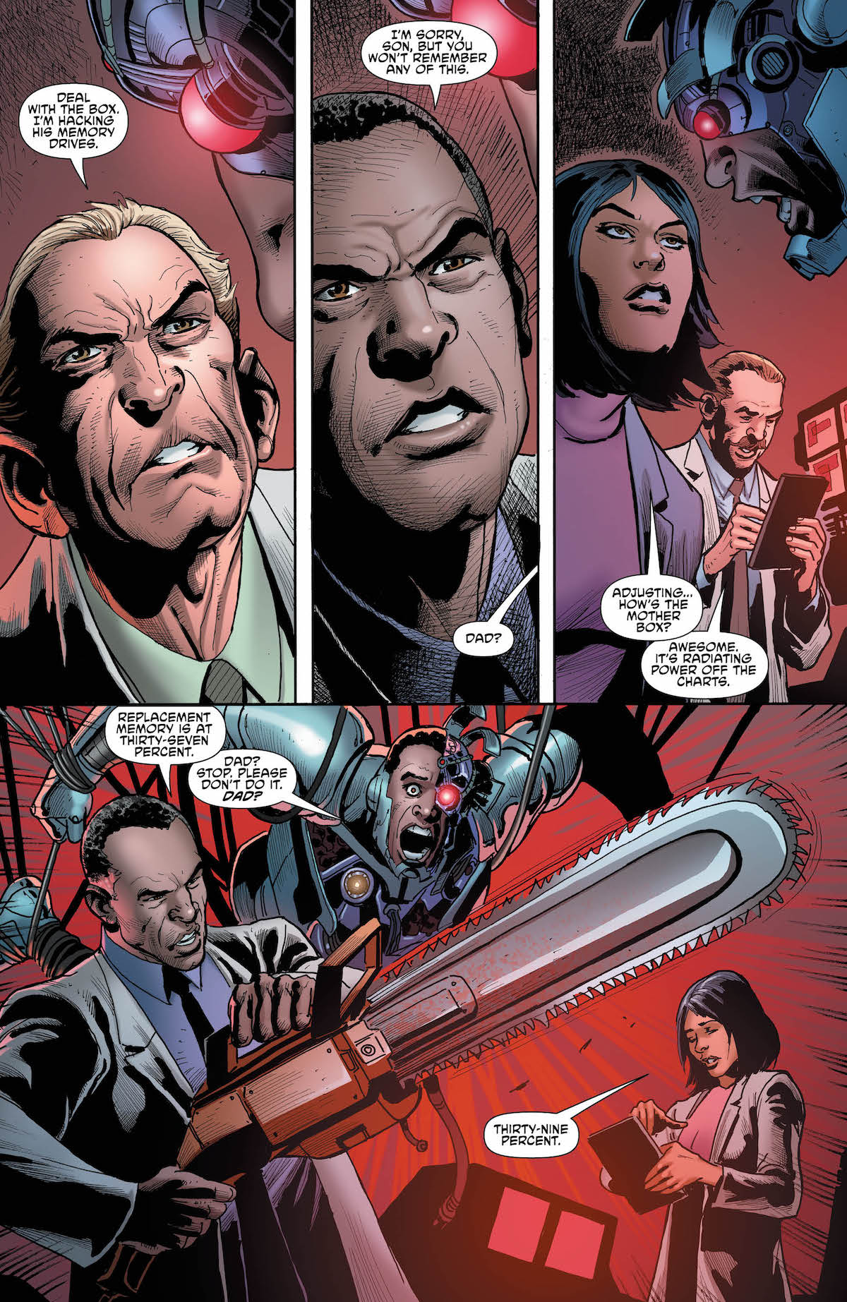Cyborg #23 page 2