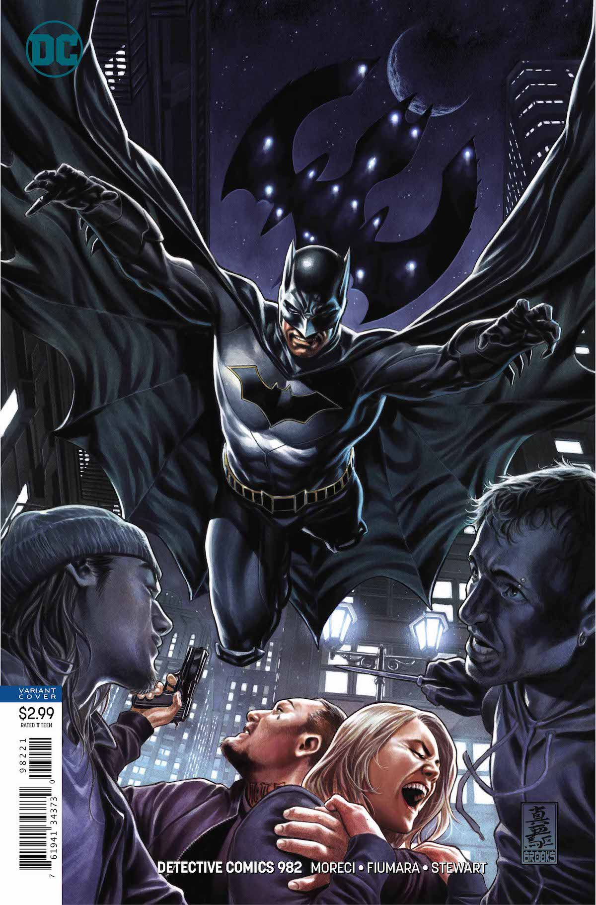 Review Batman Detective Comics 982 Deacon Blackfire Geekdad The outsiders references and bringing in native american evangelist bad guy deacon blackfire for his first rebirth appearance. review batman detective comics 982