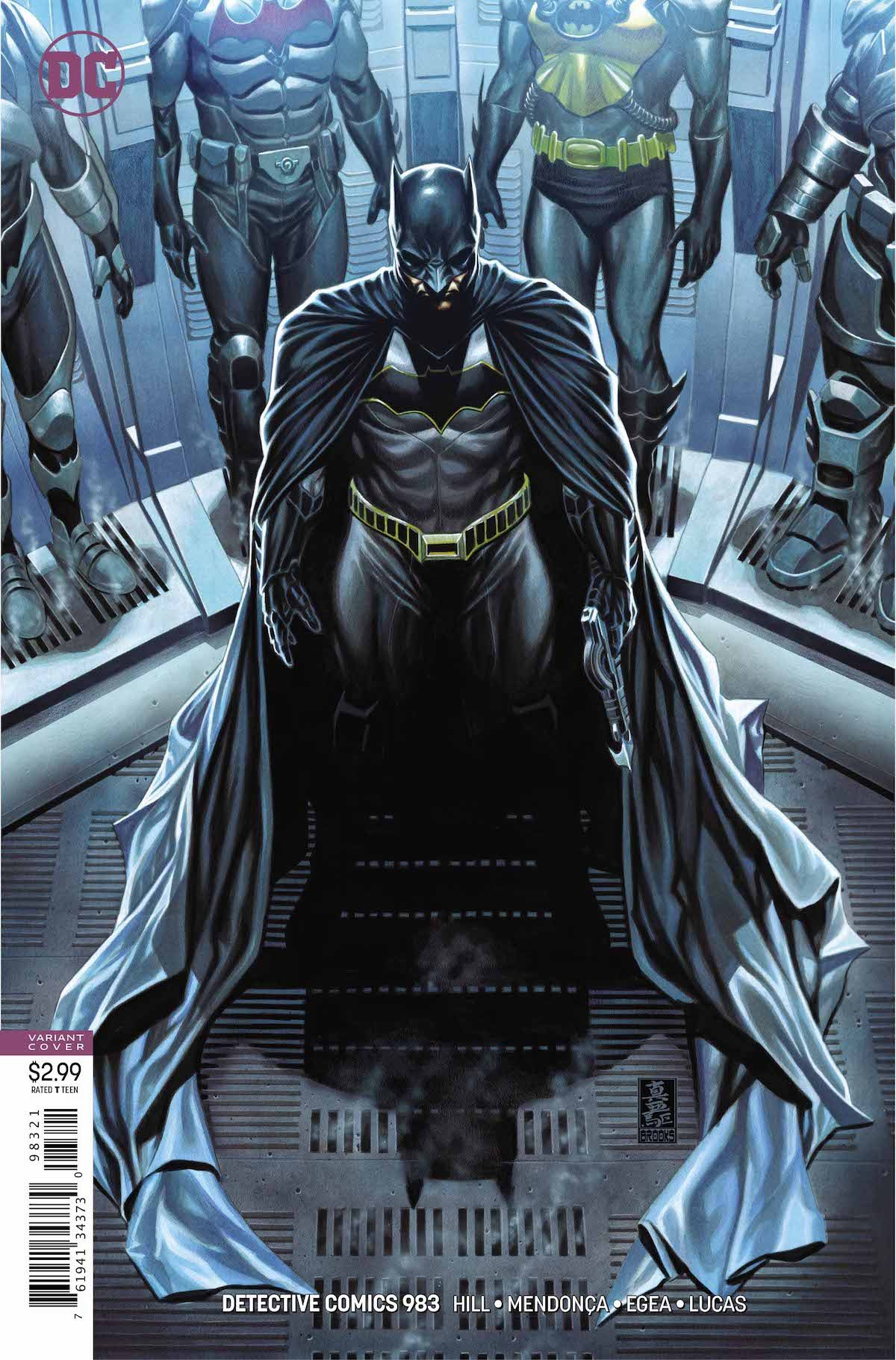 Detective Comics #983 variant cover