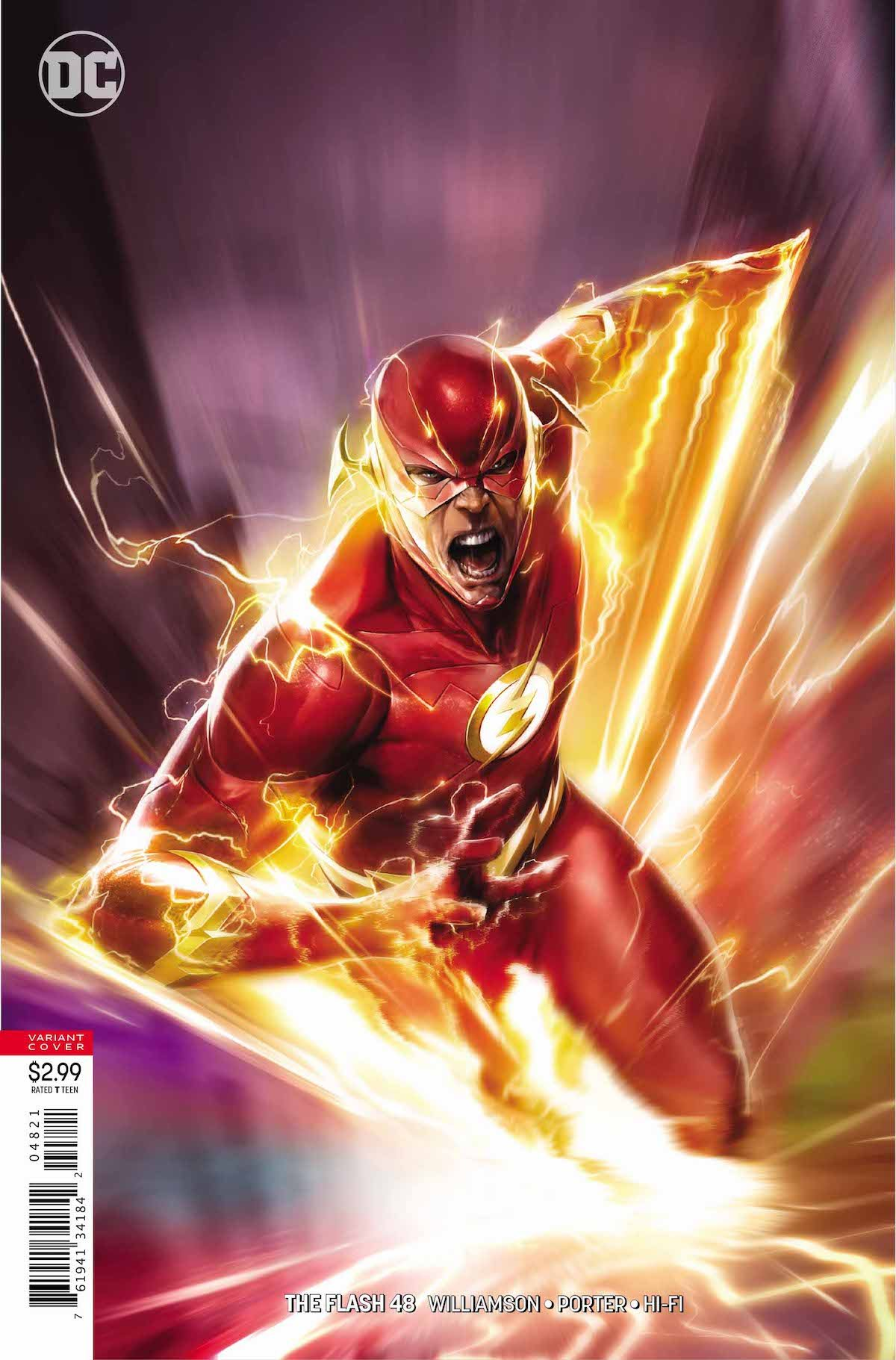 Flash #48 variant cover