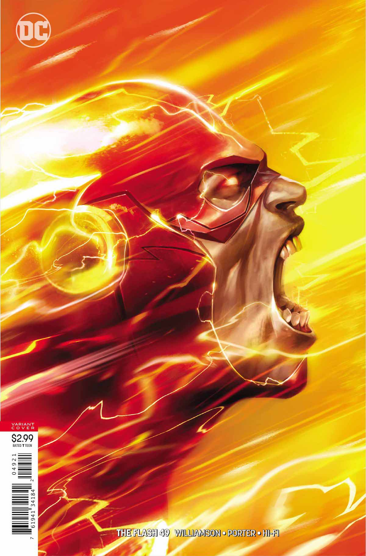 Flash #49 variant cover