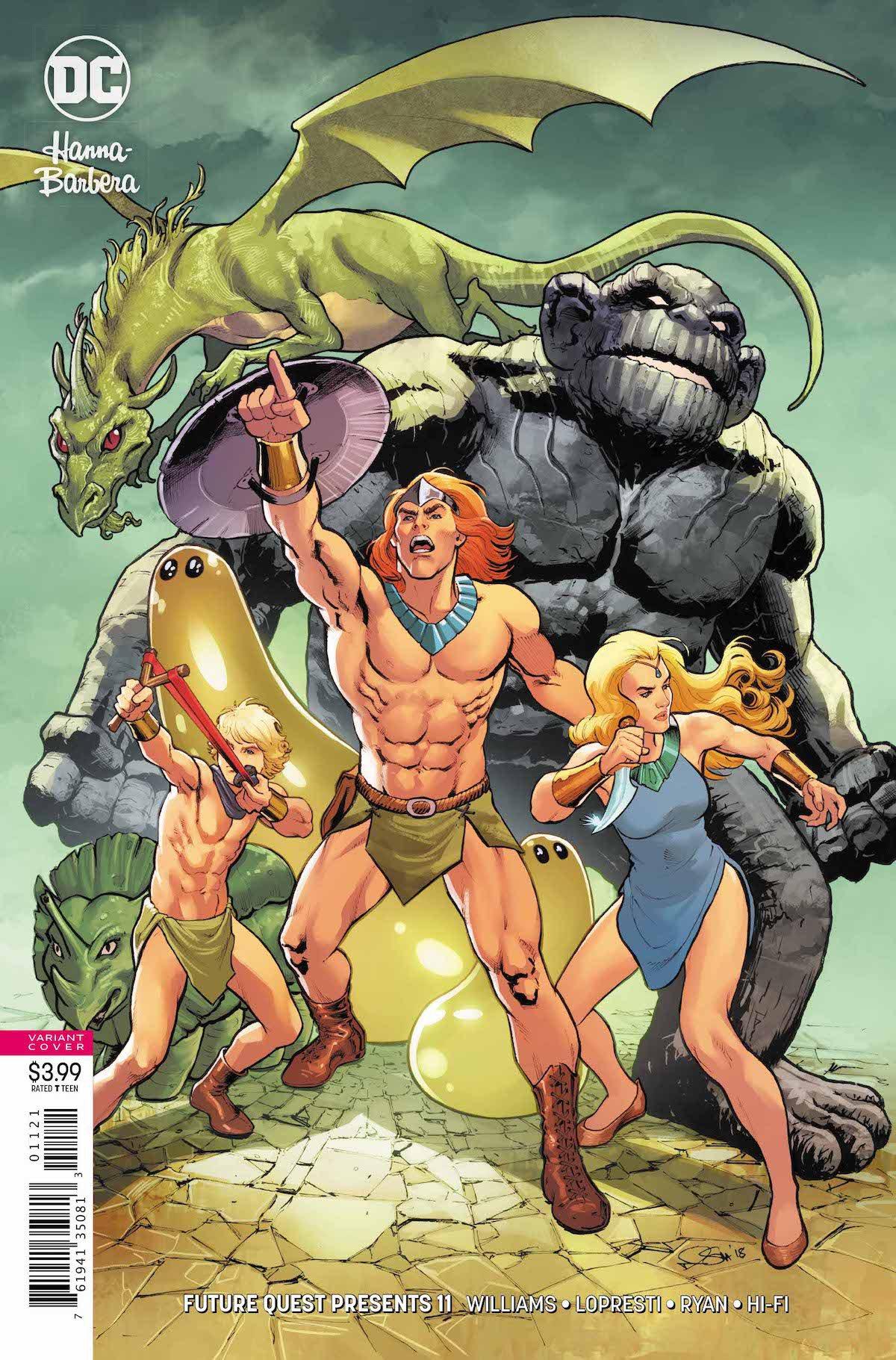 Future Quest Presents #11 variant cover