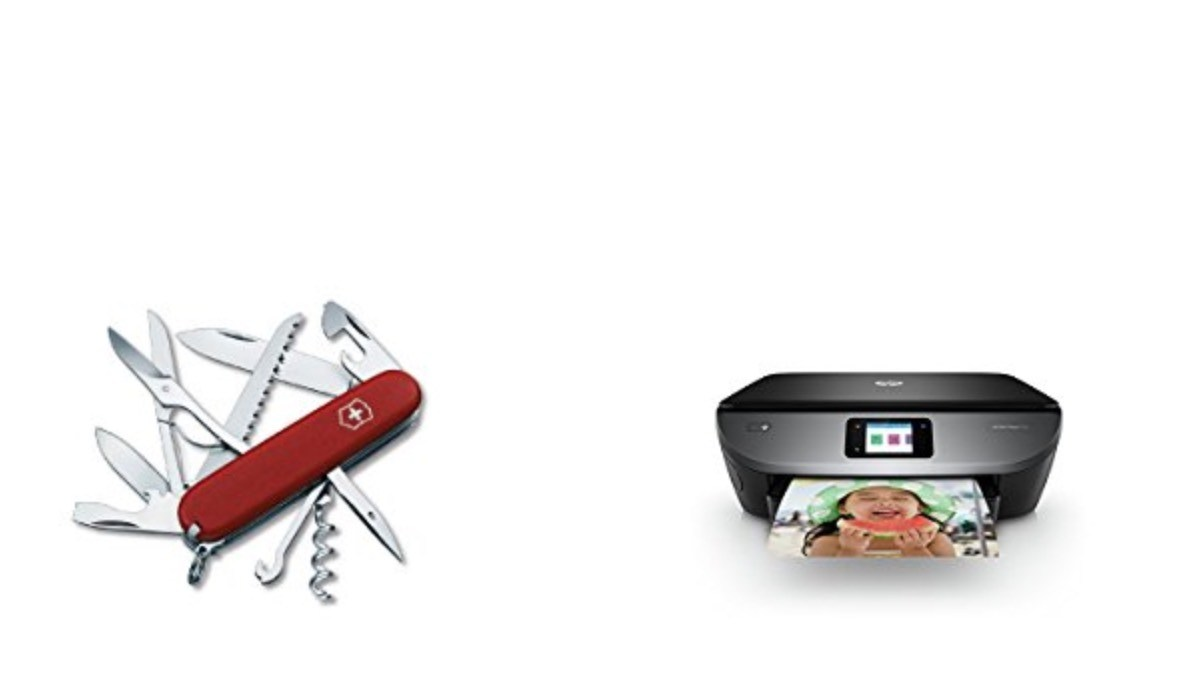 Geek Daily Deals 061618 Swiss Army Knives Photo Printer