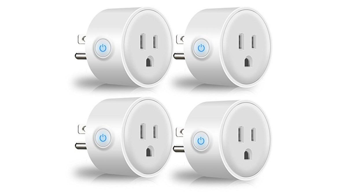 Geek Daily Deals smart plug 4-pack