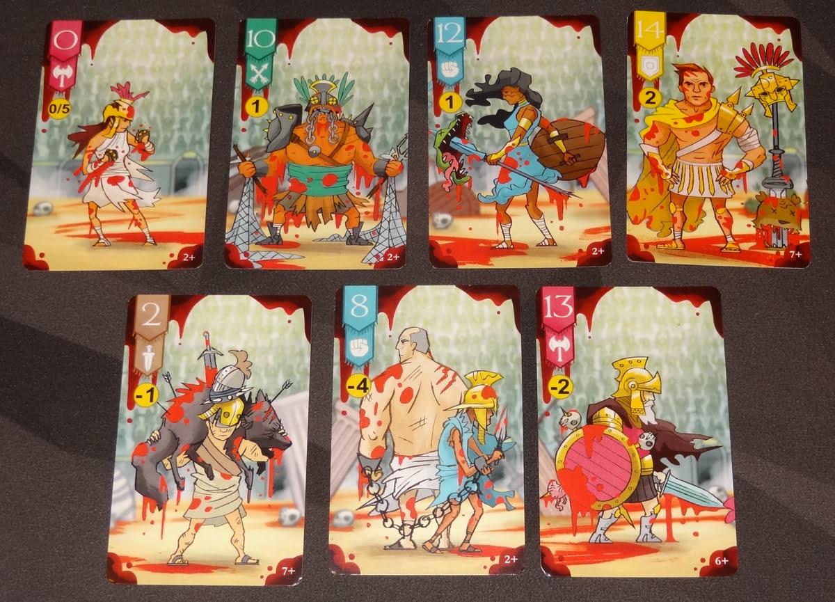 Gorus Maximus gladiator cards