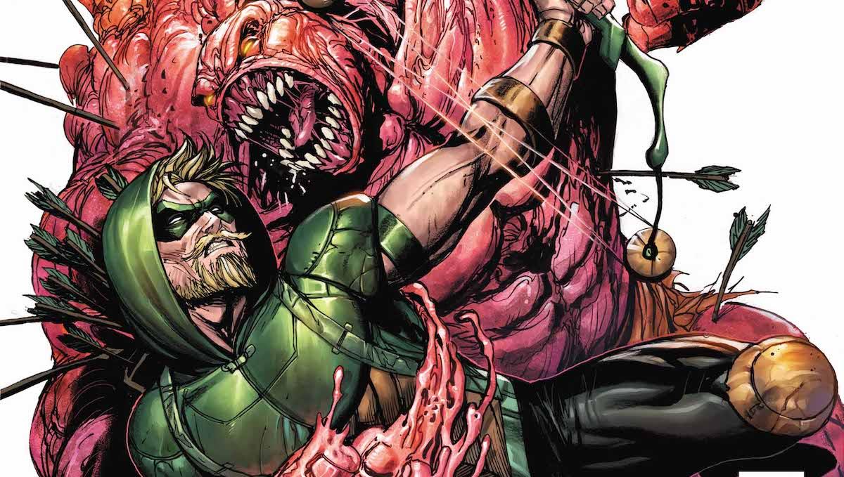 Green Arrow #41 cover