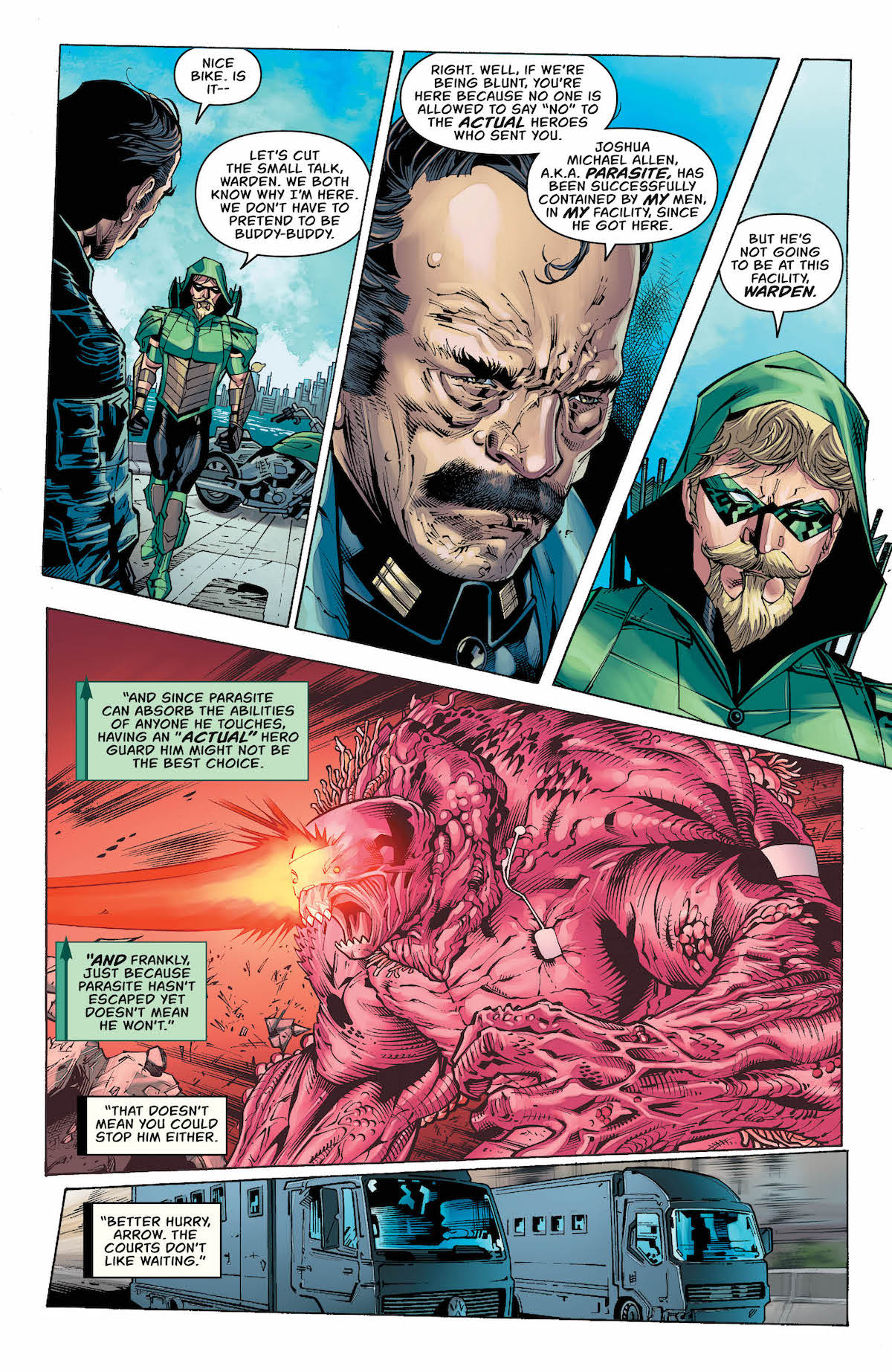 Green Arrow #41 page 2