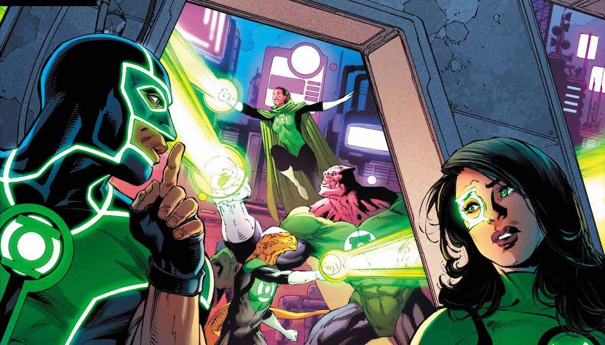 Green Lanterns #49 cover