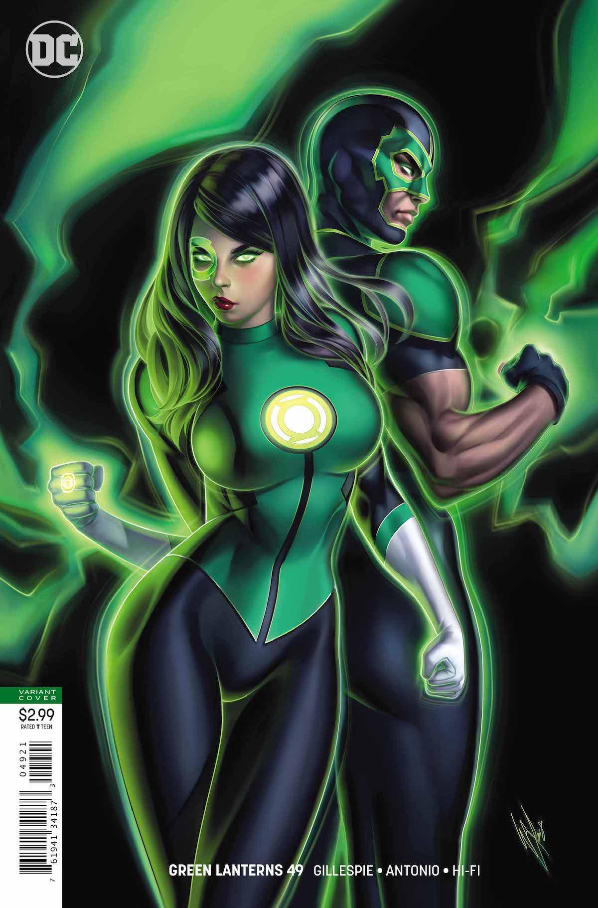 Green Lanterns #49 variant cover