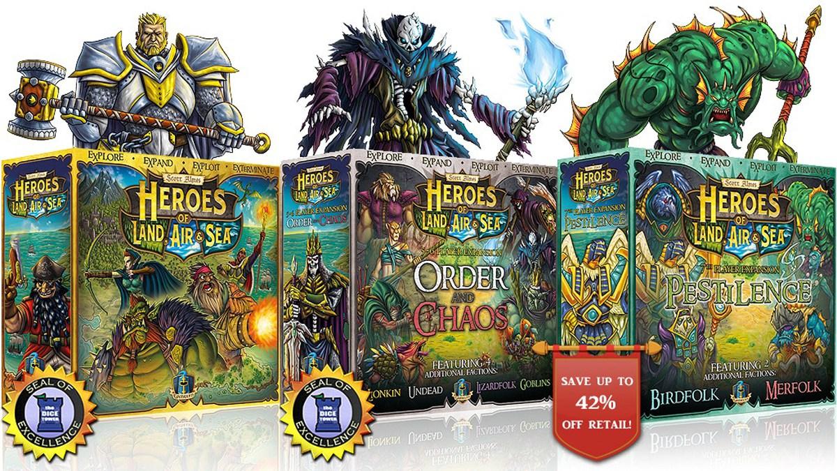 Heroes of Land, Air & Sea second printing