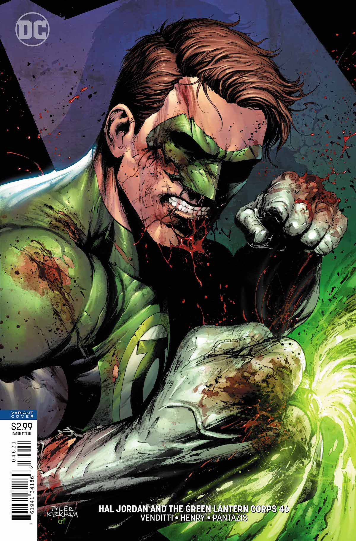 Hal Jordan and the Green Lantern Corps #46 cover