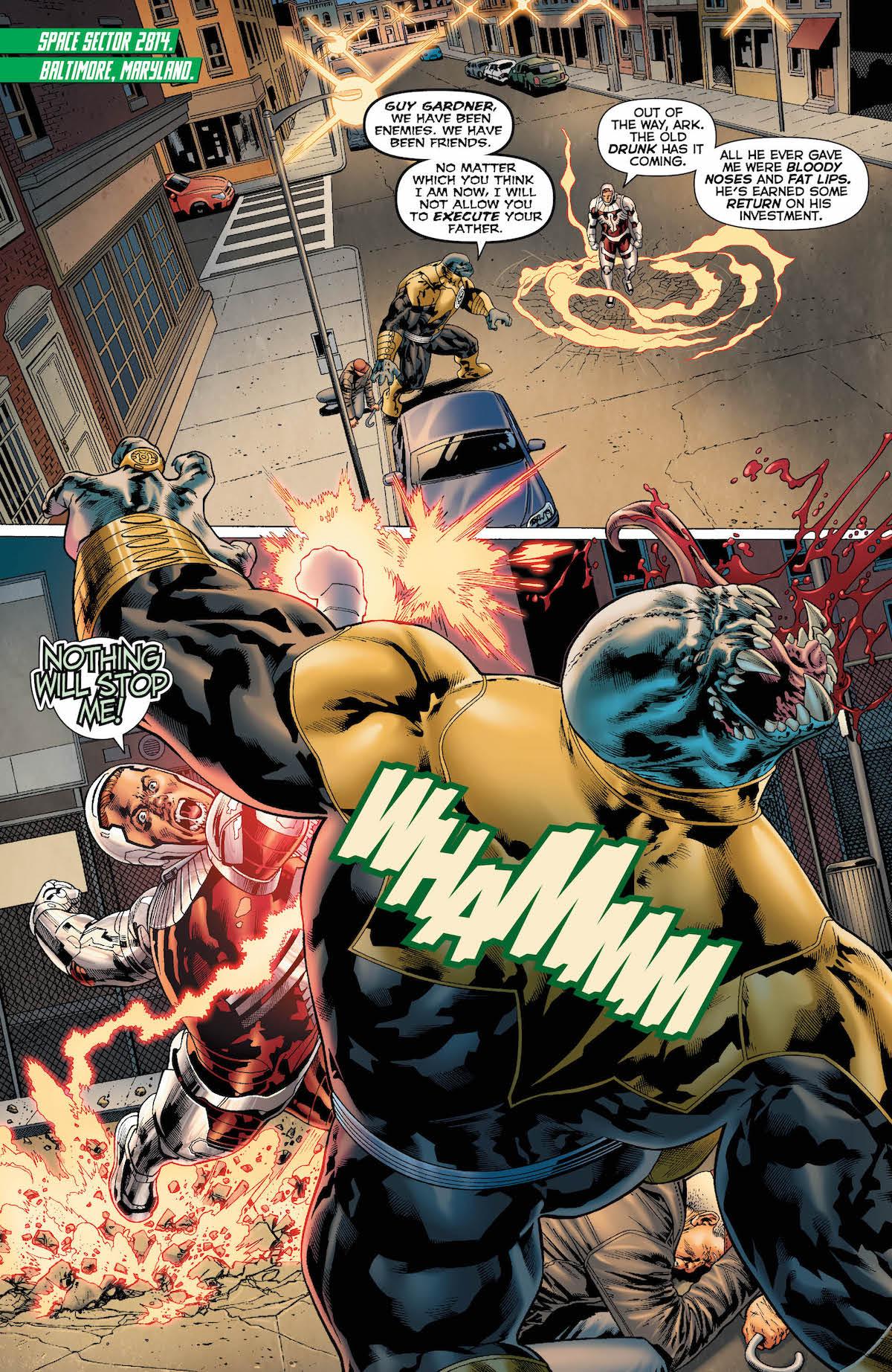 Hal Jordan and the GLC #47 page 4
