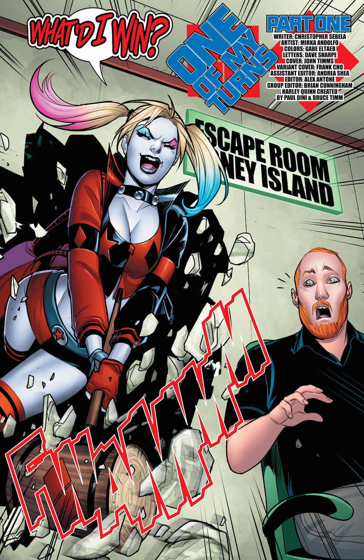 Harley Quinn #43 page 2