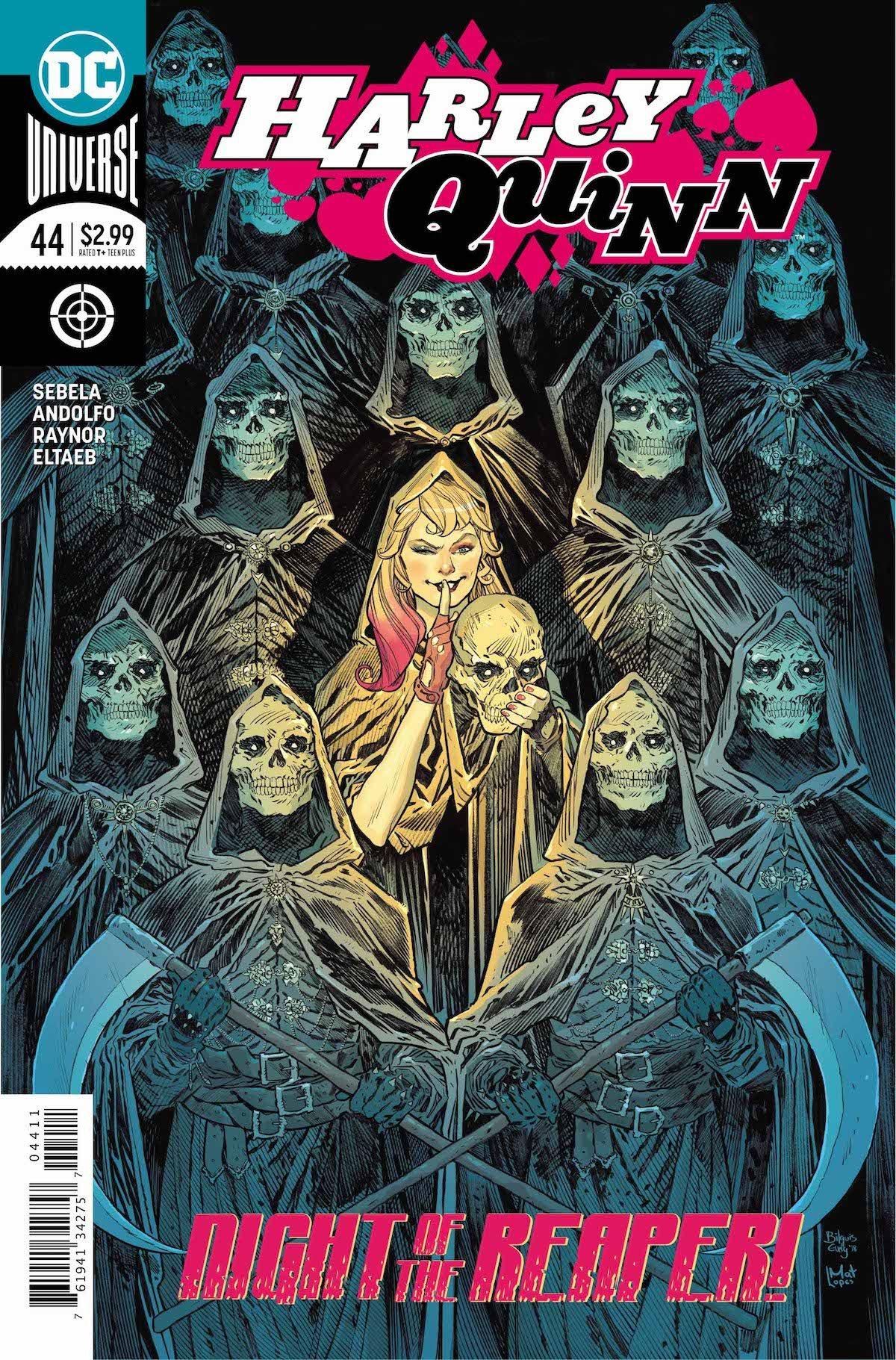 Harley Quinn #44 cover