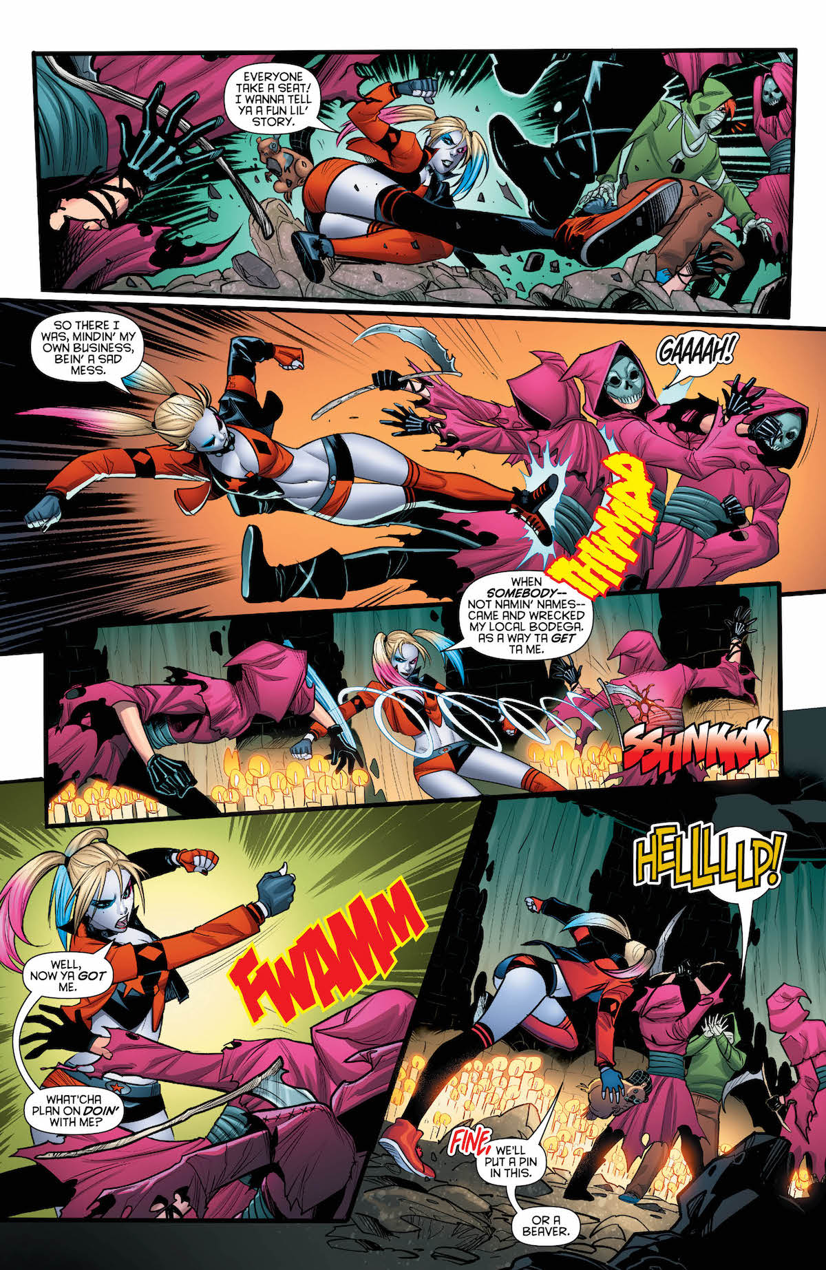 Harley Quinn #44 page 2