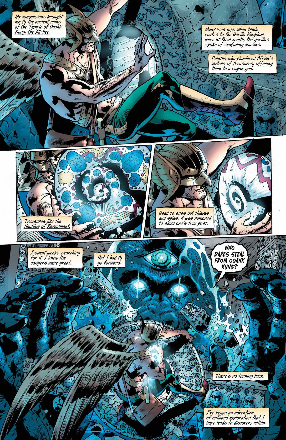 Hawkman #1 page 4