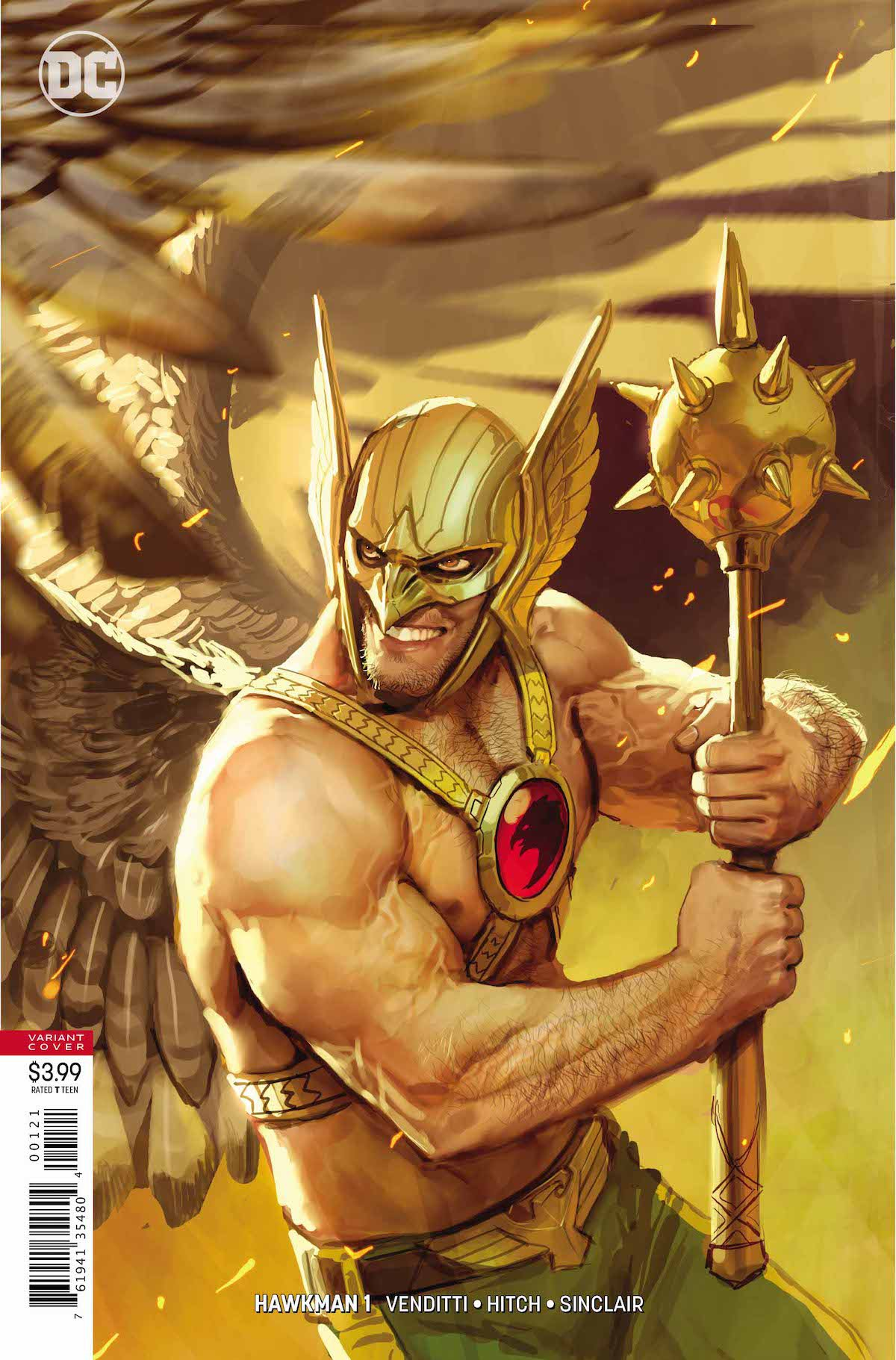 Hawkman #1 variant cover