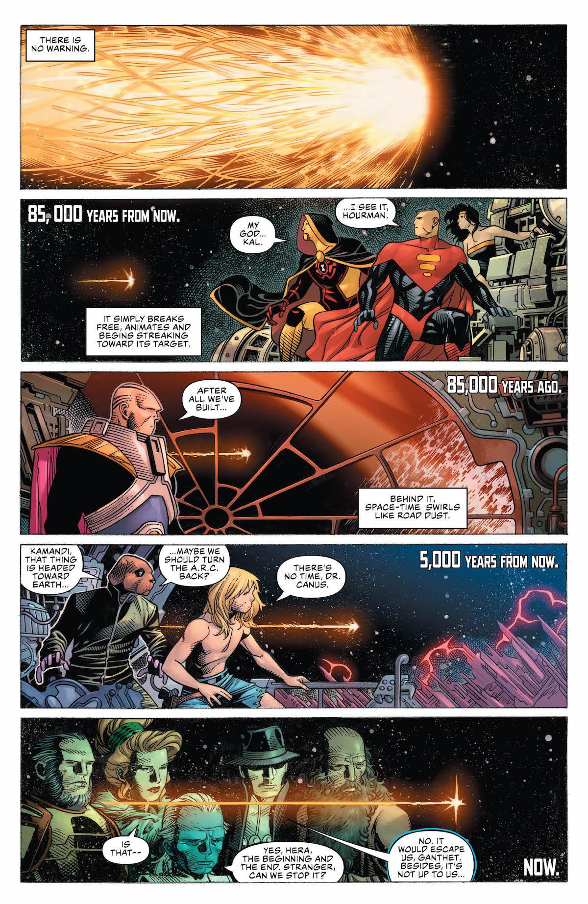 Justice League #1 page 1