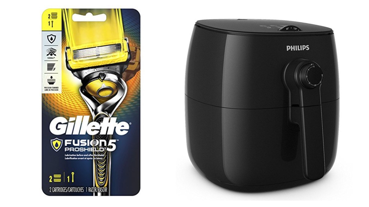 Geek Daily Deals 060318 gillette razors phillips air fryer