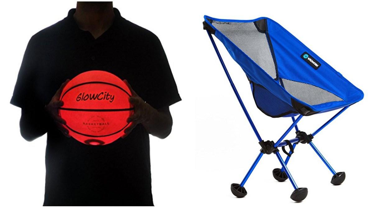 Geek Daily Deals 060518 glowing balls folding chairs
