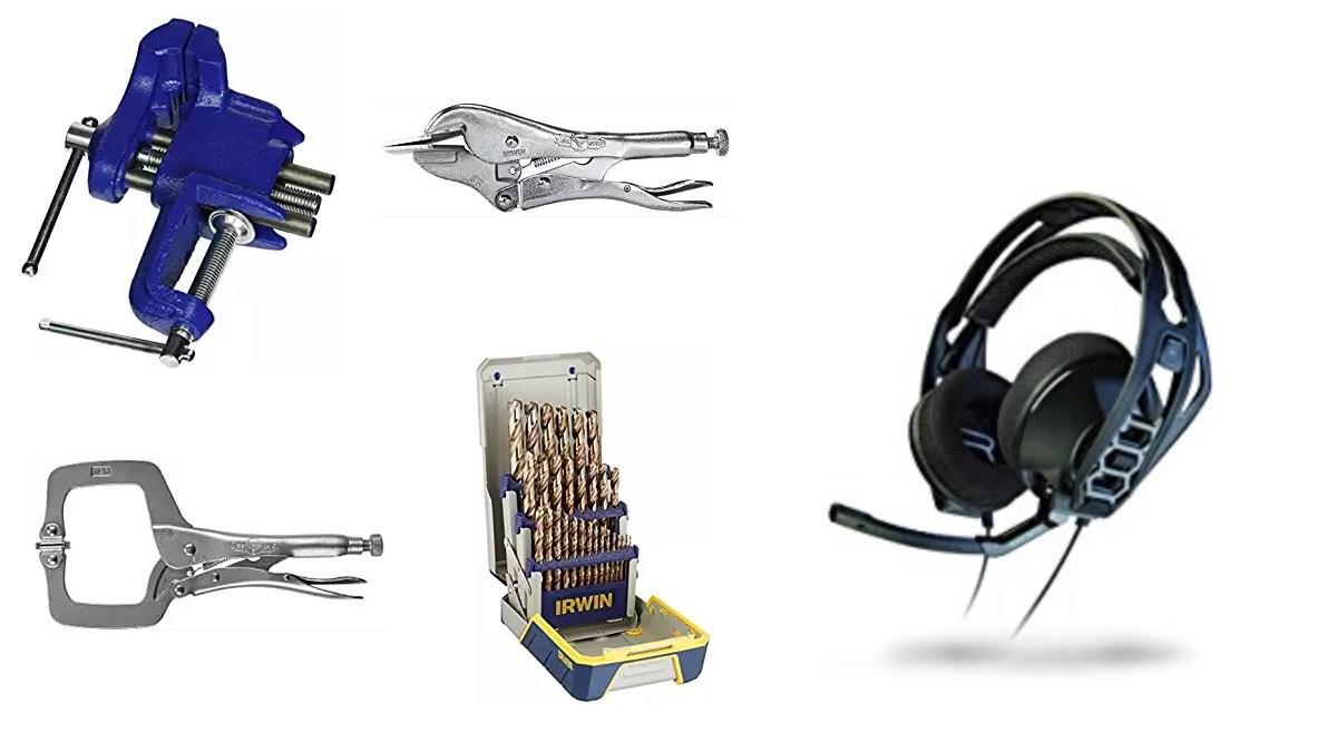 Geek Daily Deals 060918 tools plantronics headphones